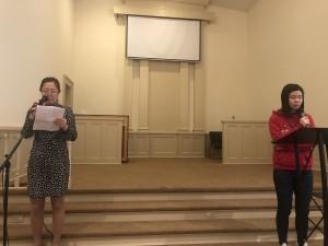 Ivy's baptism testimony