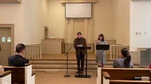 Scott's baptism testimony