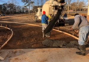 Pouring Driveway-2