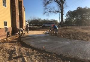 Pouring Driveway-3