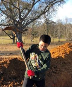 Ryan在挖沟