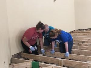 Volunteers from Michigan